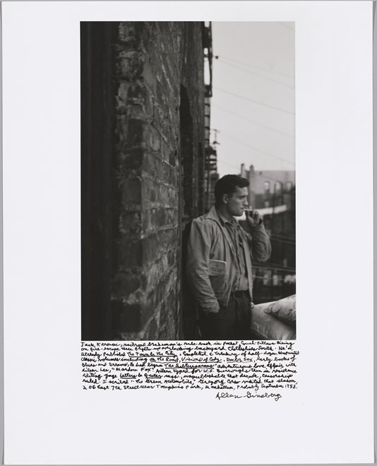 JackKerouac Beat Memories: The Photographs of Allen Ginsberg