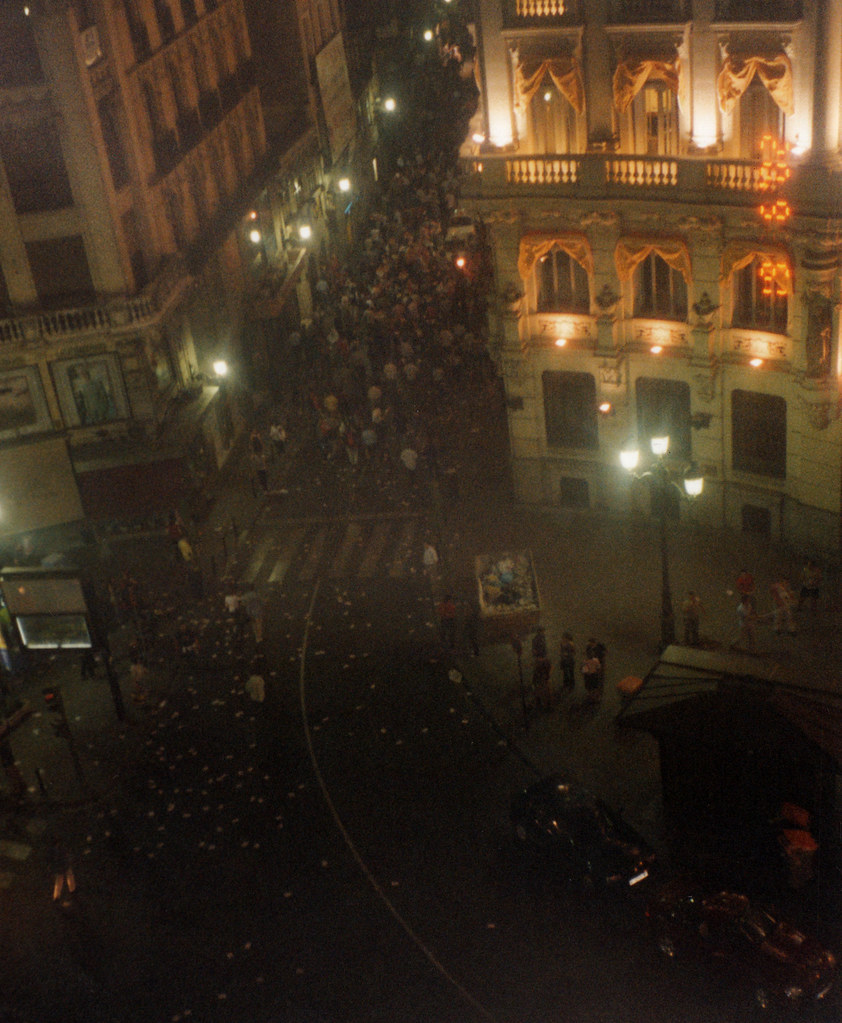Spain-Madrid Riots-Mess