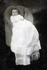 baby tintype ferrotype