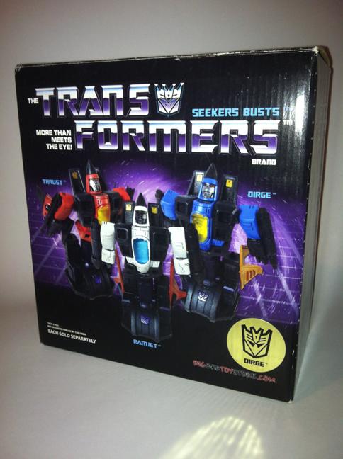 Transformers - Diamond Select Toys - Hasbro - Dirge Bust 8838285828_353f580dd5_o