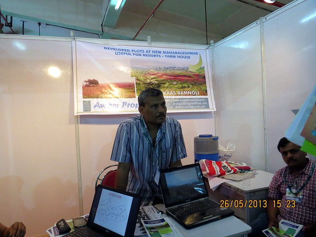 Awani Properties - Farm House Plots - Kaas Bamnoli - New Mahabaleshwar - Visit Sakal Agrowon Green Home Expo, 25th and 26th May, 2013