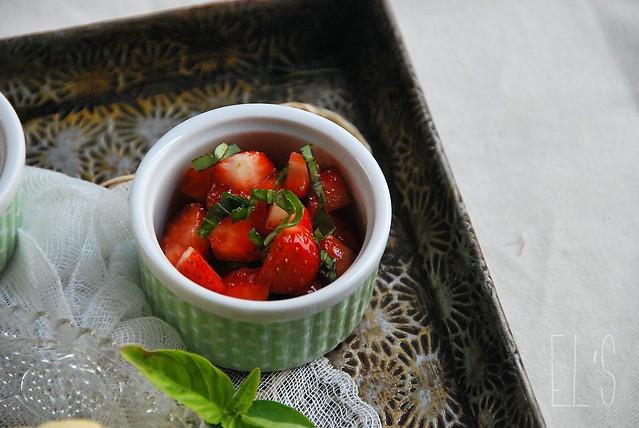 desserts autour de la fraise