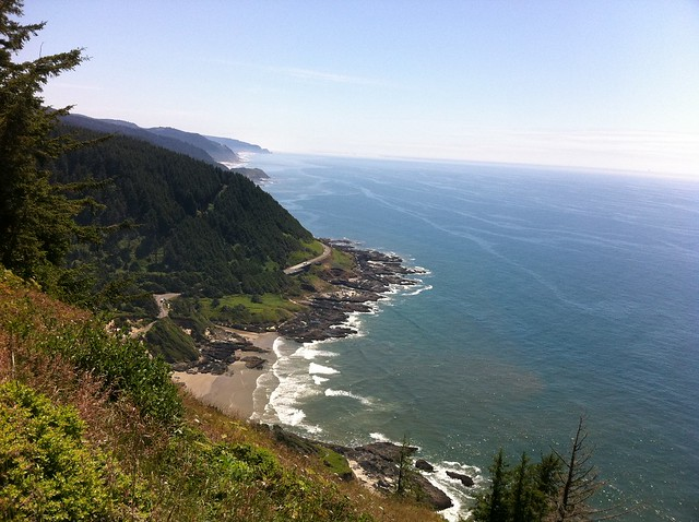 A view from Cape Perpetua's lookout