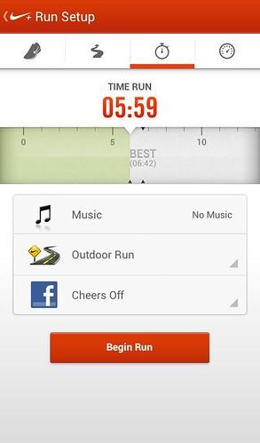 Обзор Nike+ Running для Android