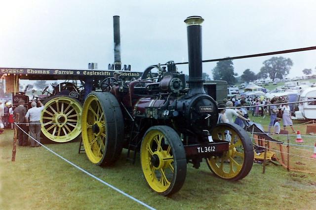 Masham Steam Engine and Fairground Organ Rally 1980s
