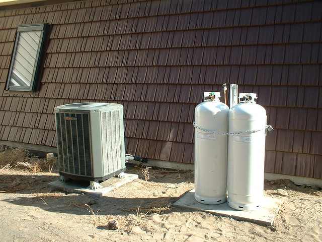 Heat Pump and Tanks