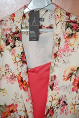 art, pattern, textile, clothing, outerwear, pink,
