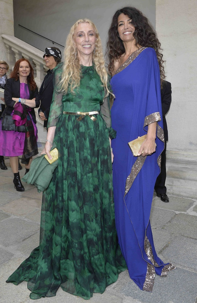 1 Franca Sozzani and Afef in Roberto Cavalli@Life Ball 2013 Gala Dinner