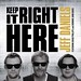 Keep It Right Here CD Cover