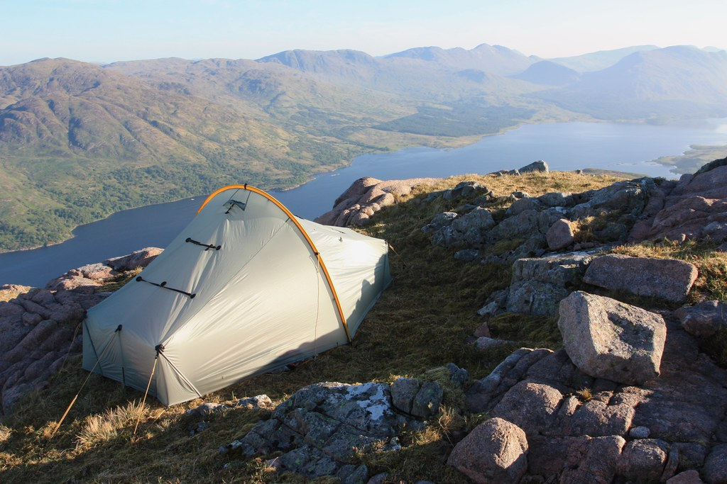 Tent above Loch Etive