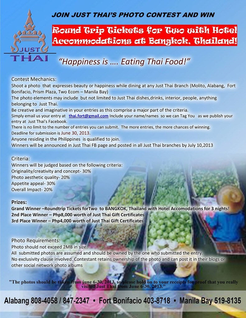 Just Thai Photo Contest