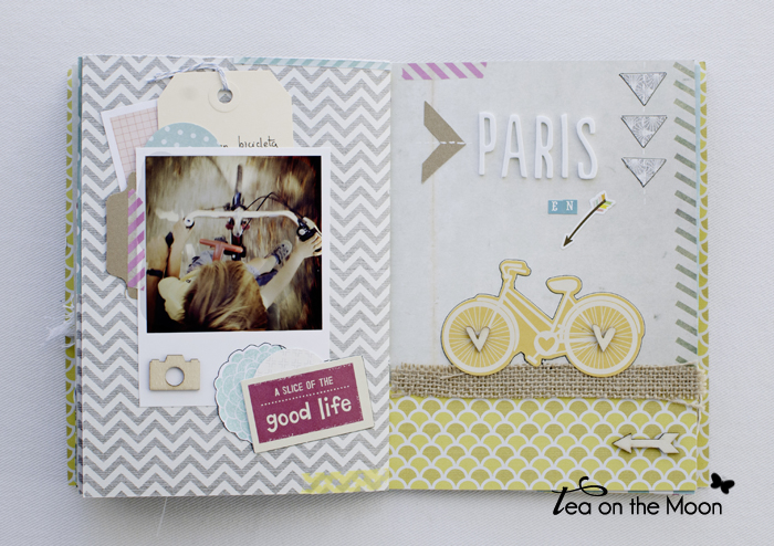 mini album scrap Paris 9