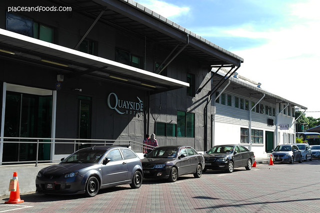 quayside hotel front