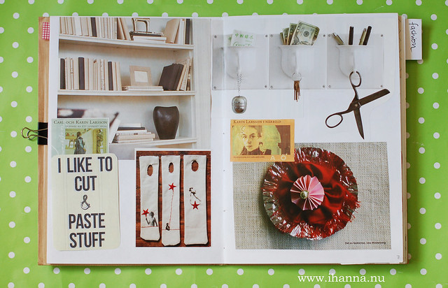 Glue book: I like to Cut & Paste Stuff