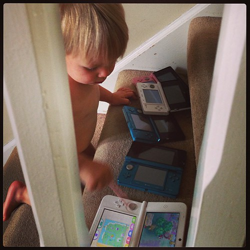 I think he wants a ds!