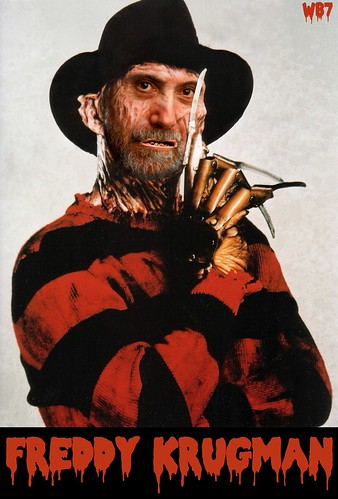 MEET FREDDY KRUGMAN by WilliamBanzai7/Colonel Flick