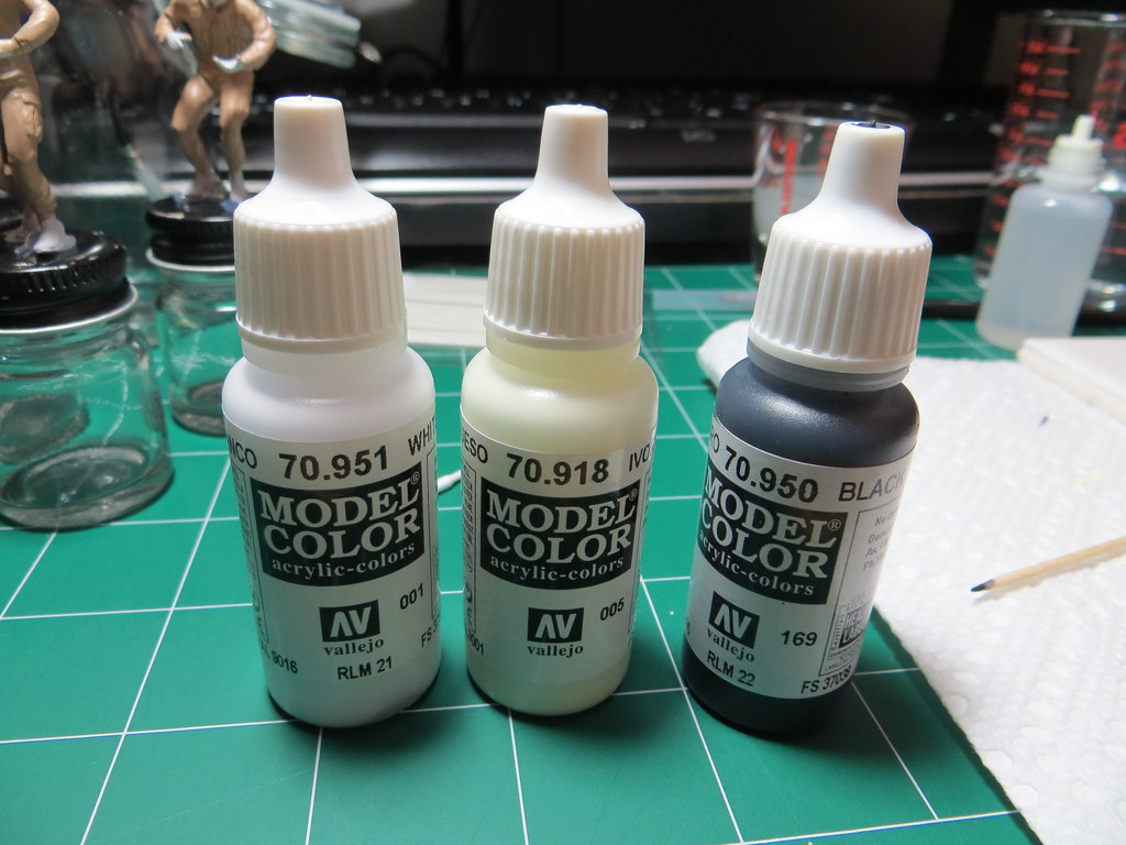 Ivory Color Mix Tamiya Paint