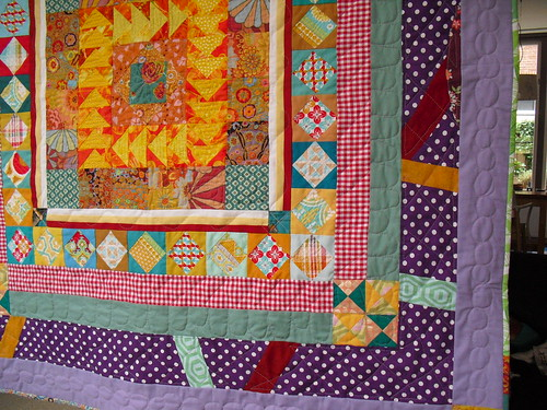 Double Dutch round robin quilt