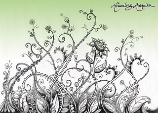'Garden Gone Wild' Colour Version - by Miraculous Mosquito