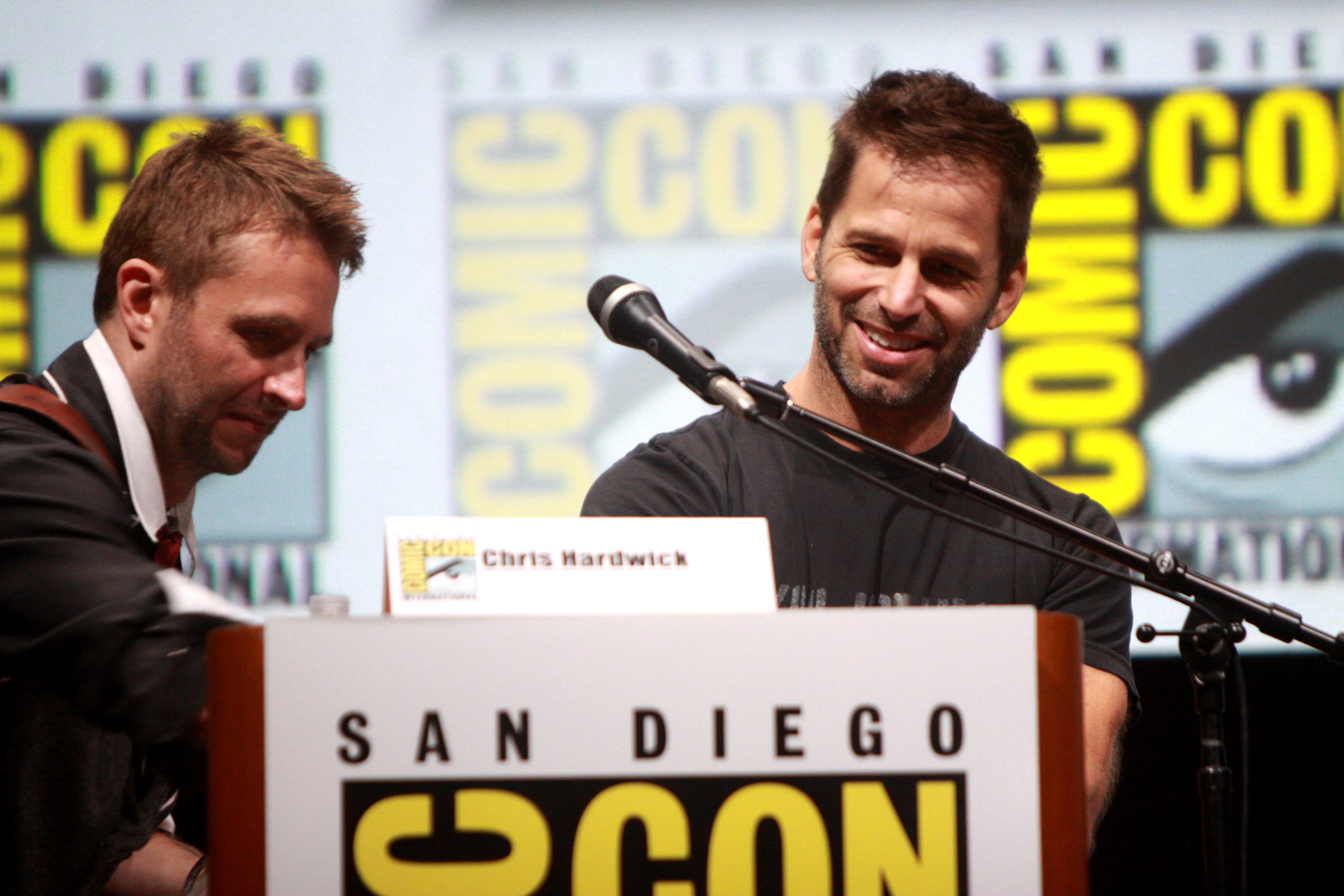 Chris Hardwick & Zack Snyder
