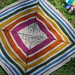 sunshower baby blanket by knitting school dropout