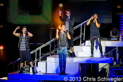 Big Time Rush - 08-03-13 - Summer Break Tour, DTE Energy Music Theatre, Clarkston, MI