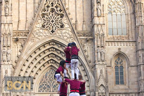 Castellers, Barcelona