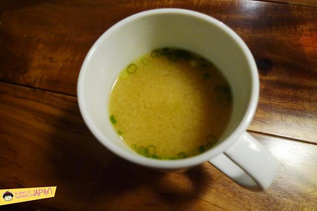 kitchen tachikichi - miso soup