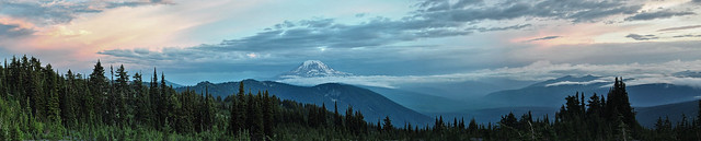 Mount Rainier Panorama