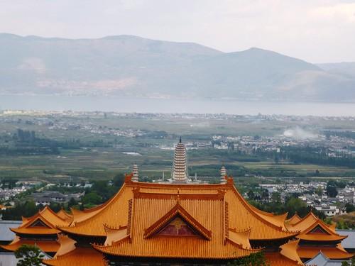 Yunnan13-Dali-11. Pavillon vue Mont et Mer (12)