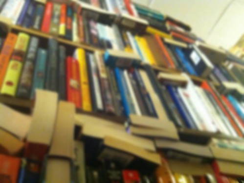 shelves at The Book Trader