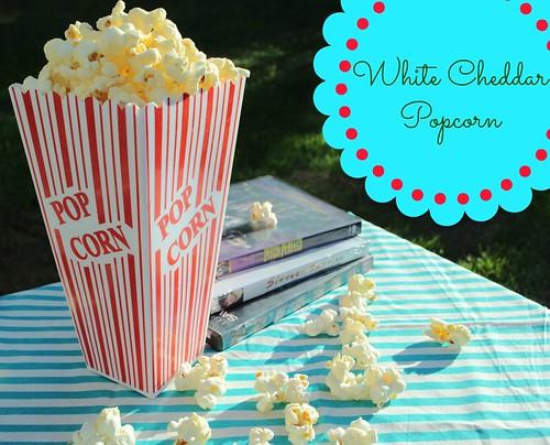 White Cheddar Popcorn| Licious Food