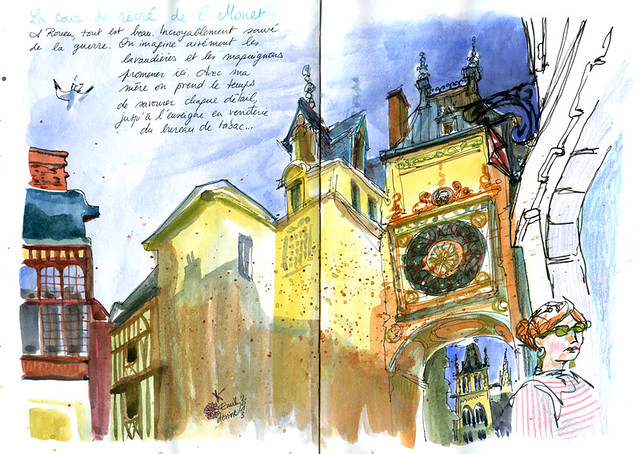 Normandy Holidays Homework #3 - Le gros horloge Rouen