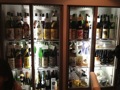 圧巻な日本酒の品揃え@ビストロクロード