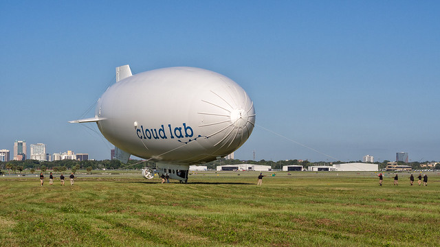 blimp launch, step 3