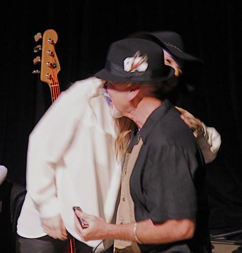 ZZ Ward dad hug