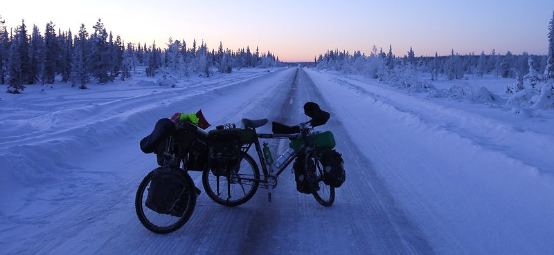 Winter cycle touring basic tips