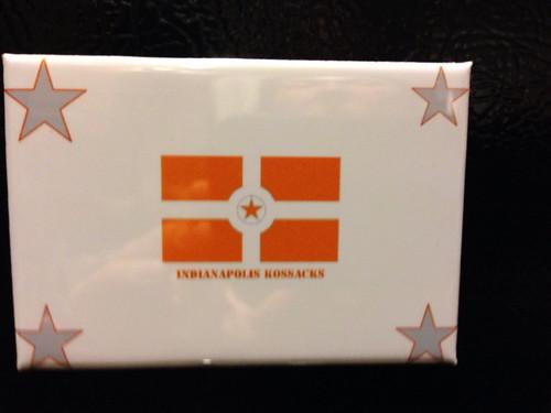 Indianpolis Kossacks fridge magnet