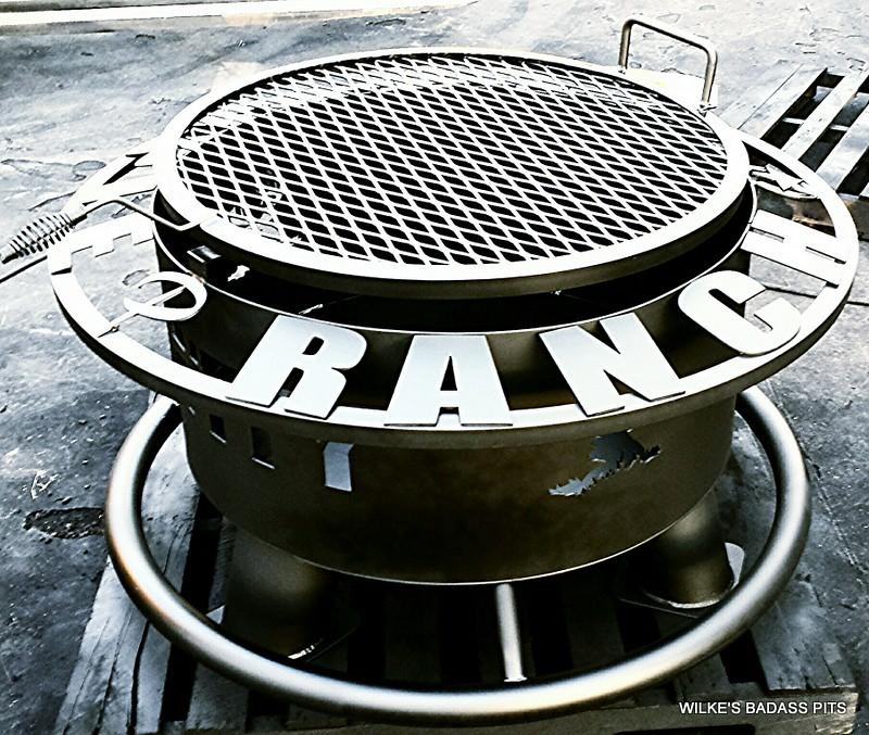 "CUSTOM DESIGN, CHARCOAL GRATE 2"" SOLE SAVER AND REGULAR GRILL"