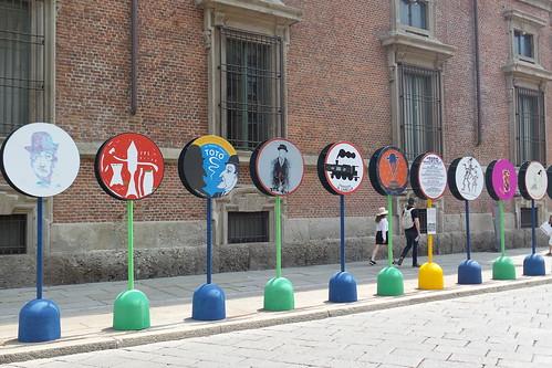 Anche Totò vi dà il benvenuto in #Expo by Ylbert Durishti