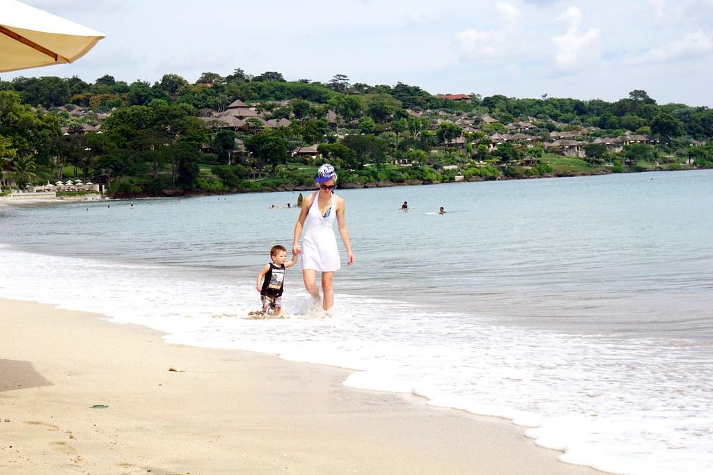 Jimbaran beach - morning