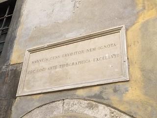 Former workshop of printer Aldus Manutius