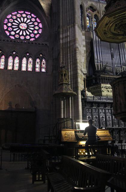 CONCIERTO DE AARON RIBAS EN EL ÓRGANO DE LA CATEDRAL DE LEÓN