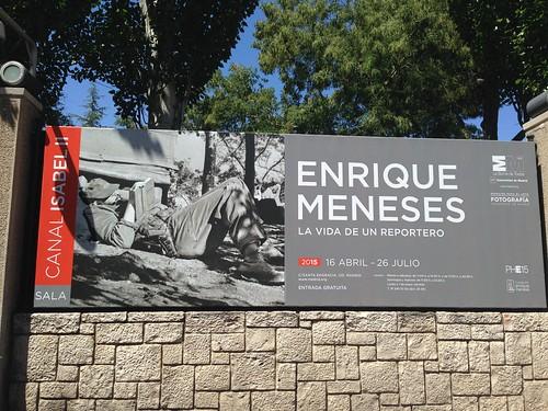 Enrique Meneses, Canal de Isabel II. Madrid