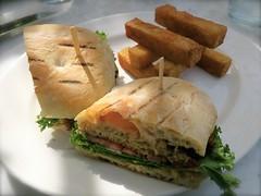 Blue Crab Cake Sandwich