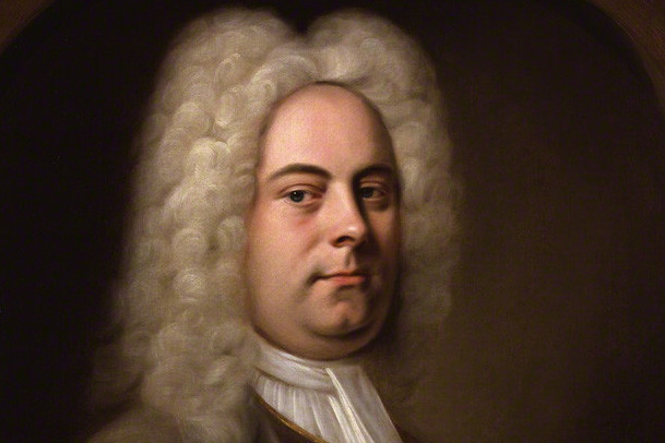 George Frideric Handel attributed to Balthasar Denner oil on canvas, feigned oval, 1726-1728 NPG 1976 © National Portrait Gallery, London