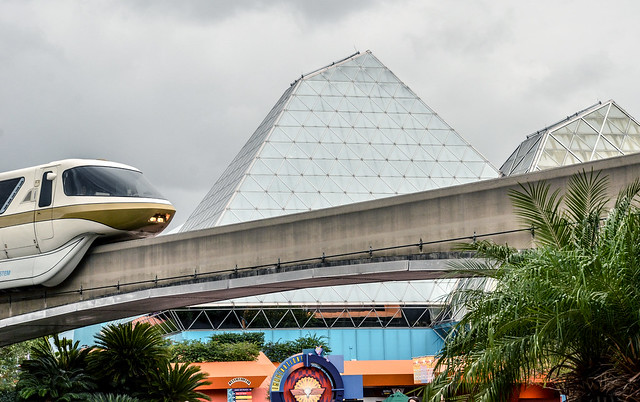 Imagination monorail Epcot
