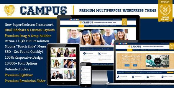 Campus v3.1.9 - Multipurpose WordPress Theme