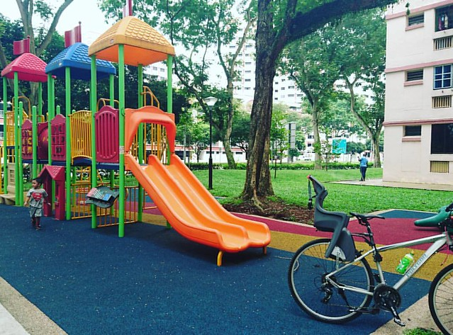 Another #children 's #playground #pitstop near Blk 617 #CCK North. #cycling #indivaraakhtar