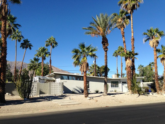 Palm Springs Desert Modern houses